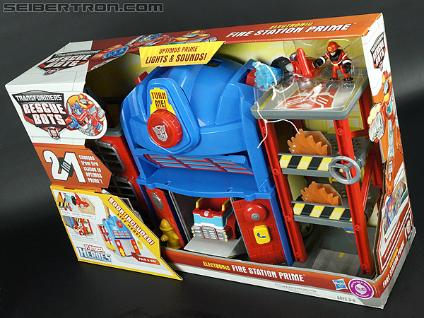 Transformers Rescue Bots Fire Station Prime (Image #24 of 136)