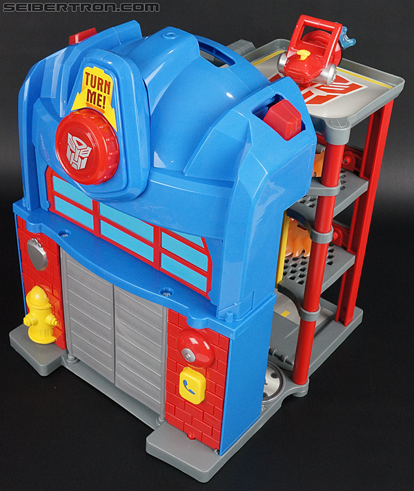 Transformers Rescue Bots Fire Station Prime (Image #41 of 136)