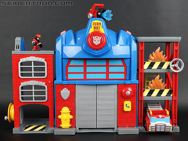 Transformers Rescue Bots Fire Station Prime gallery