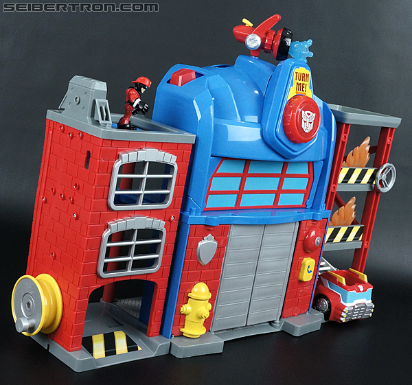Transformers Rescue Bots Fire Station Prime (Image #49 of 136)