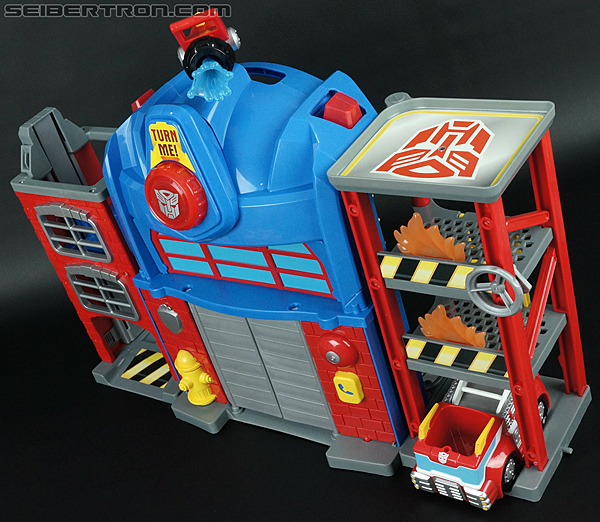 Transformers Rescue Bots Fire Station Prime (Image #64 of 136)