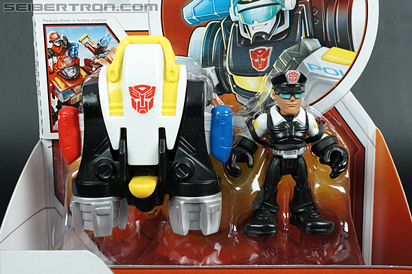 Transformers Rescue Bots Jack Tracker & Jet Pack (Billy Blastoff & Jet Pack) (Image #2 of 75)