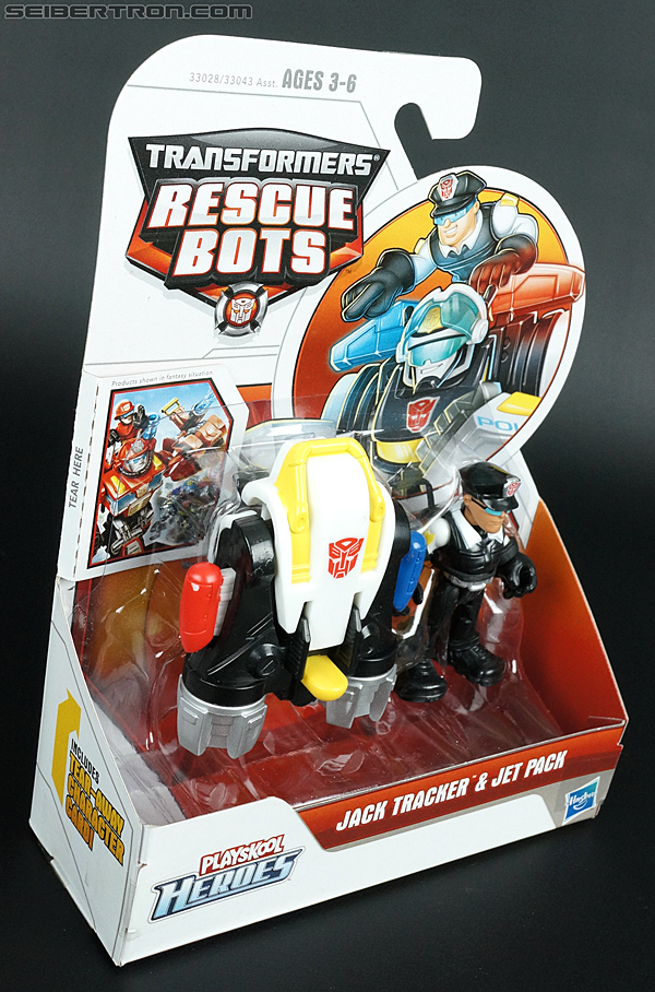 Transformers Rescue Bots Jack Tracker & Jet Pack (Billy Blastoff & Jet Pack) (Image #4 of 75)