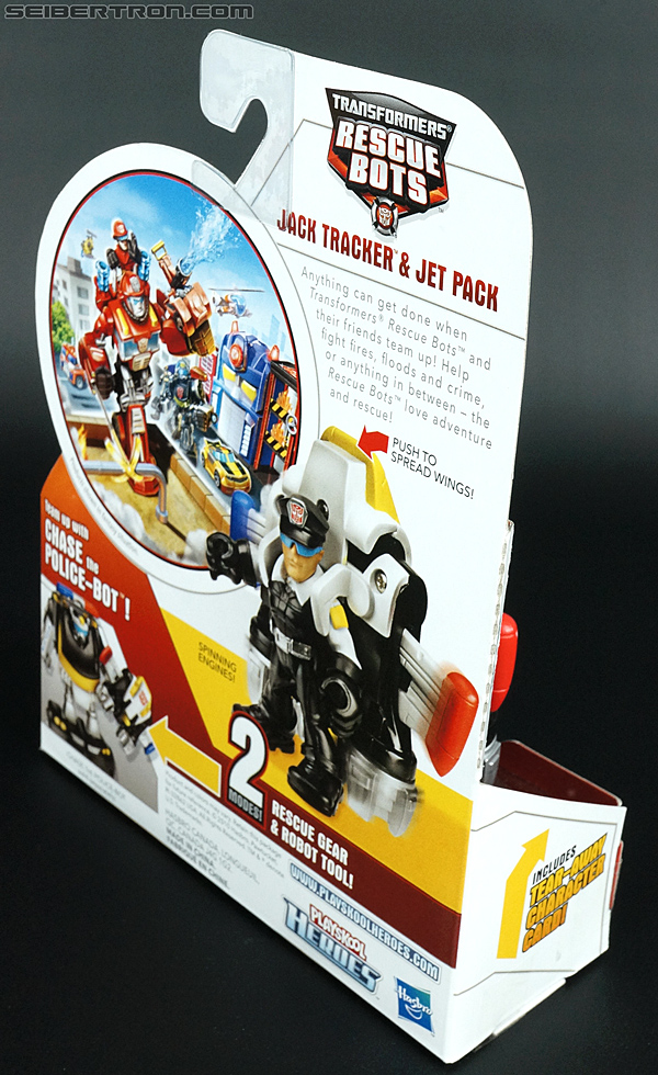 Transformers Rescue Bots Jack Tracker & Jet Pack (Billy Blastoff & Jet Pack) (Image #5 of 75)
