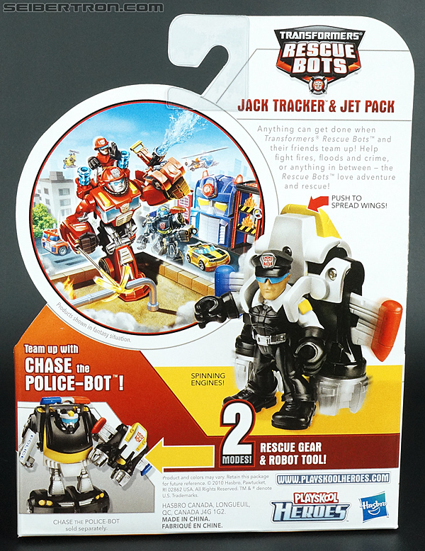 Transformers Rescue Bots Jack Tracker & Jet Pack (Billy Blastoff & Jet Pack) (Image #6 of 75)