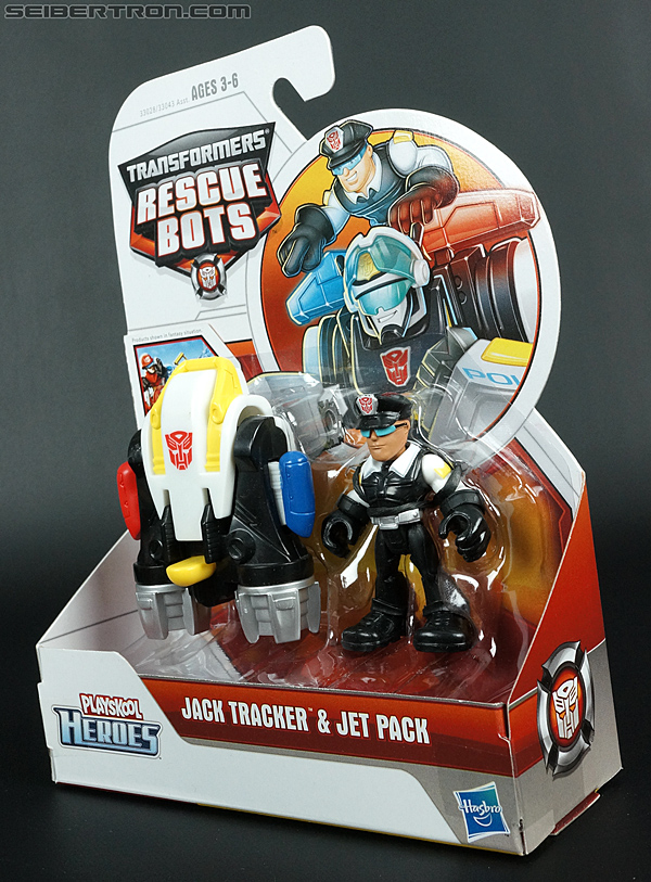Transformers Rescue Bots Jack Tracker & Jet Pack (Billy Blastoff & Jet Pack) (Image #11 of 75)