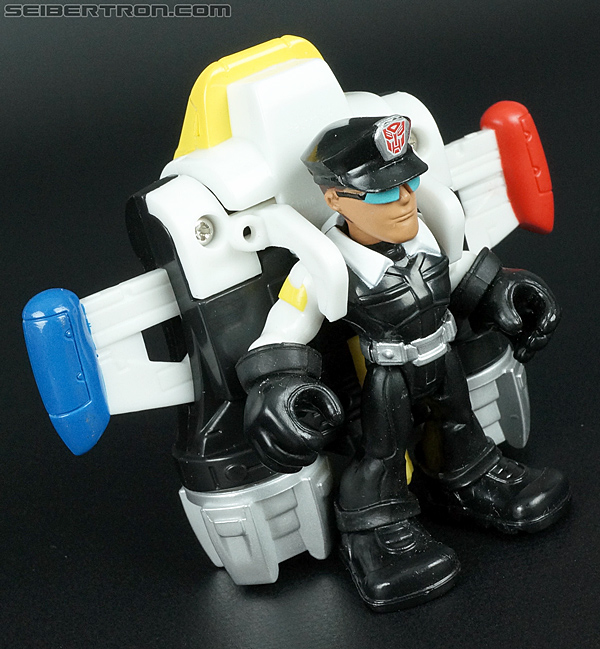 Transformers Rescue Bots Jack Tracker & Jet Pack (Billy Blastoff & Jet Pack) (Image #20 of 75)