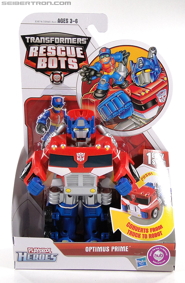 Transformers Rescue Bots Optimus Prime (Image #1 of 112)