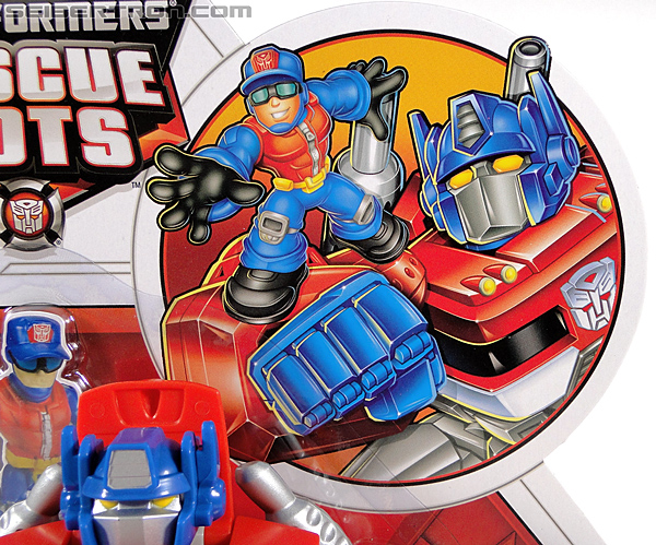 Transformers Rescue Bots Optimus Prime (Image #3 of 112)