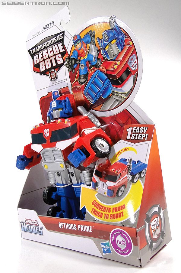 Transformers Rescue Bots Optimus Prime (Image #15 of 112)
