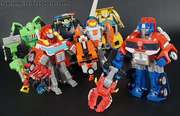 Transformers Rescue Bots Optimus Prime (Image #97 of 112)
