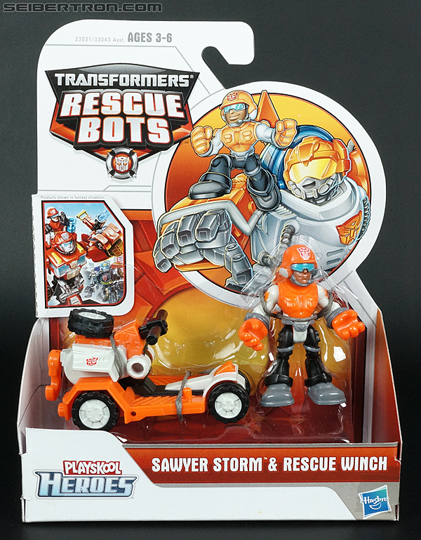 Transformers Rescue Bots Sawyer Storm & Rescue Winch (Image #1 of 75)