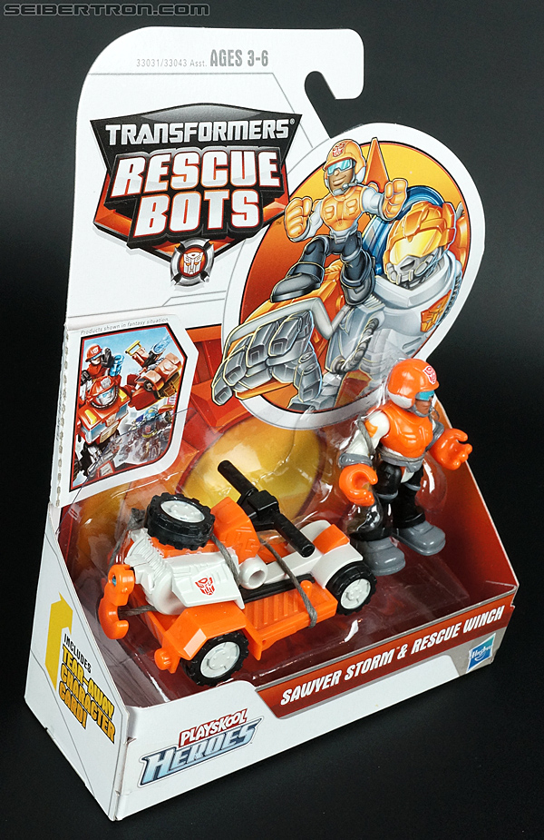 Transformers Rescue Bots Sawyer Storm & Rescue Winch (Image #5 of 75)