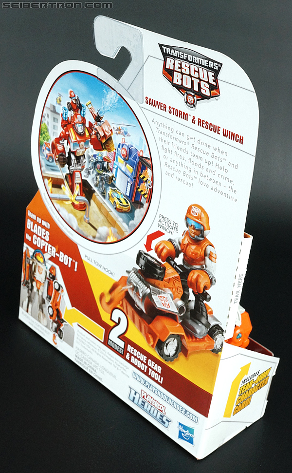 Transformers Rescue Bots Sawyer Storm & Rescue Winch (Image #6 of 75)
