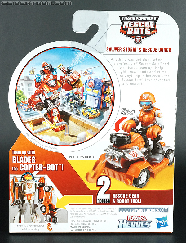 Transformers Rescue Bots Sawyer Storm & Rescue Winch (Image #7 of 75)
