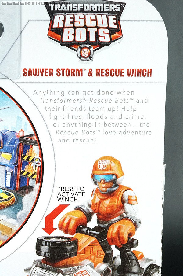 Transformers Rescue Bots Sawyer Storm & Rescue Winch (Image #8 of 75)