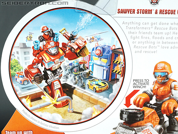 Transformers Rescue Bots Sawyer Storm & Rescue Winch (Image #9 of 75)