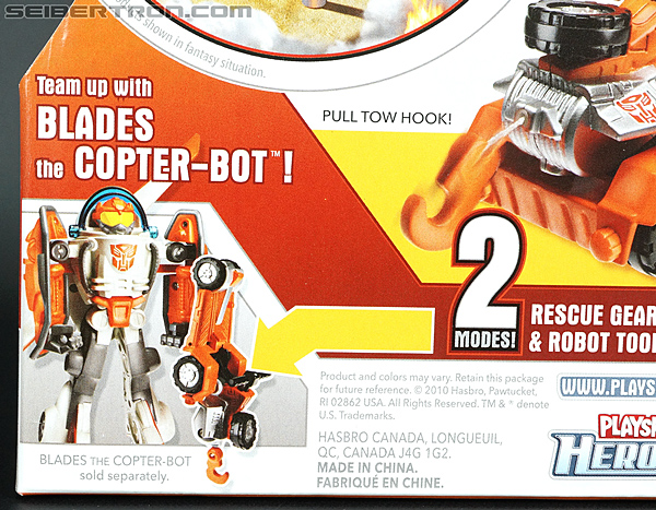 Transformers Rescue Bots Sawyer Storm & Rescue Winch (Image #10 of 75)
