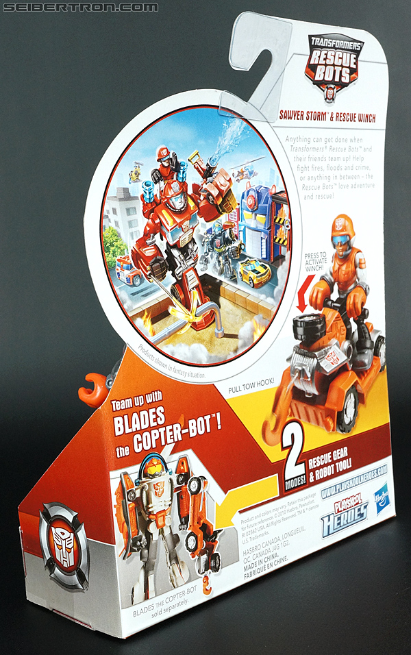 Transformers Rescue Bots Sawyer Storm & Rescue Winch (Image #11 of 75)