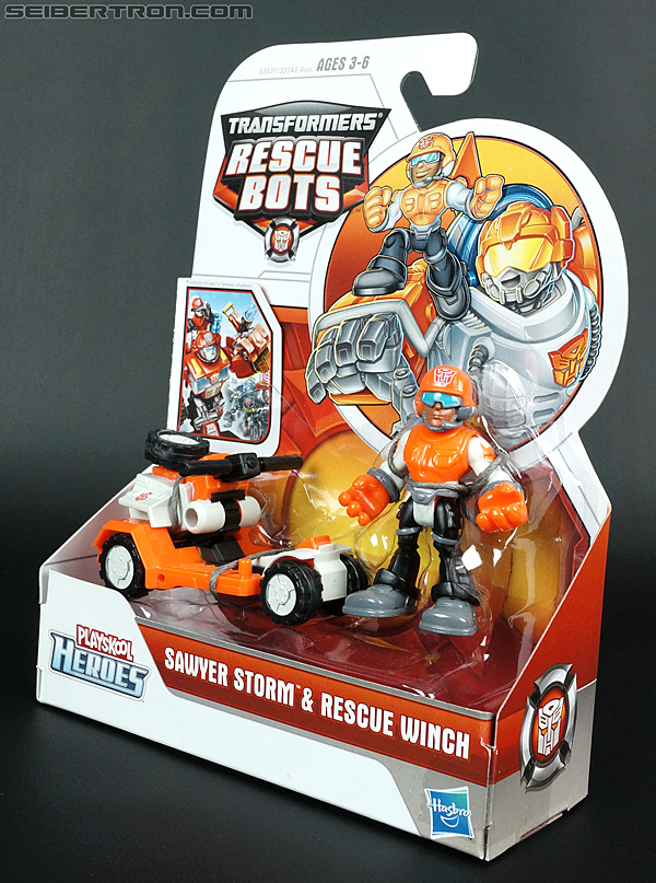 Transformers Rescue Bots Sawyer Storm & Rescue Winch (Image #12 of 75)