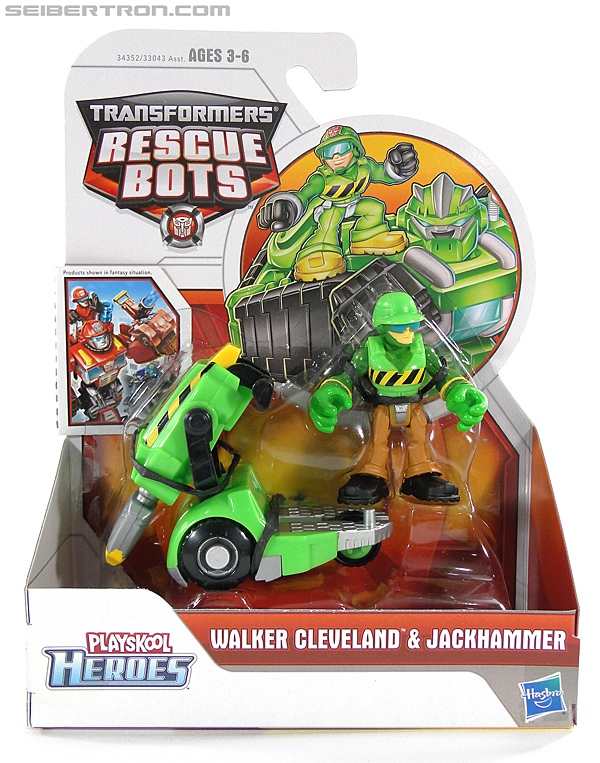 Transformers Rescue Bots Walker Cleveland & Jackhammer (Image #1 of 81)