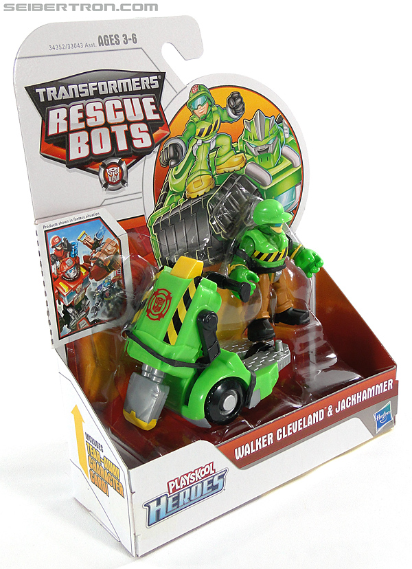 Transformers Rescue Bots Walker Cleveland & Jackhammer (Image #5 of 81)
