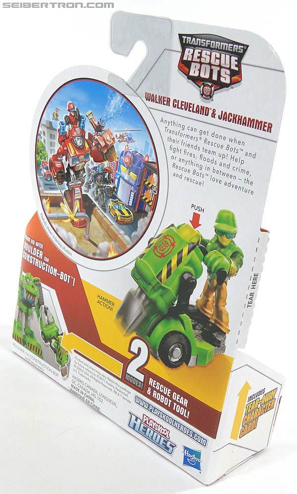 Transformers Rescue Bots Walker Cleveland & Jackhammer (Image #6 of 81)