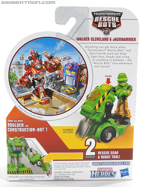 Transformers Rescue Bots Walker Cleveland & Jackhammer (Image #7 of 81)