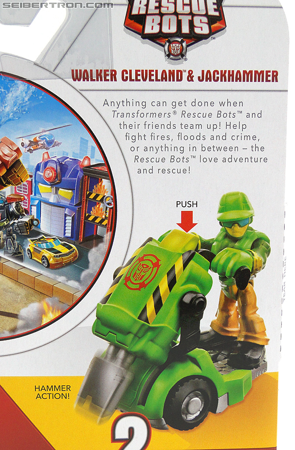 Transformers Rescue Bots Walker Cleveland & Jackhammer (Image #8 of 81)