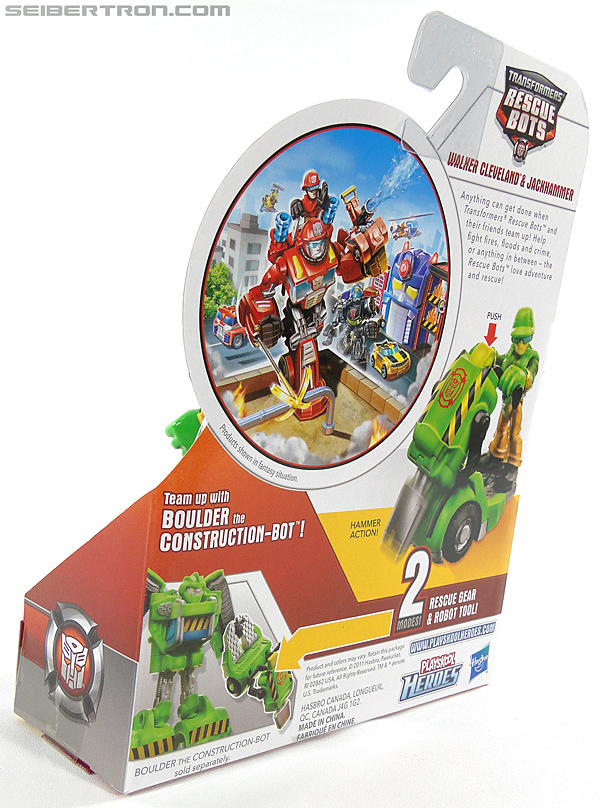 Transformers Rescue Bots Walker Cleveland & Jackhammer (Image #10 of 81)