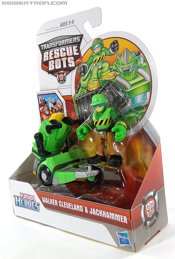 Transformers Rescue Bots Walker Cleveland & Jackhammer (Image #11 of 81)