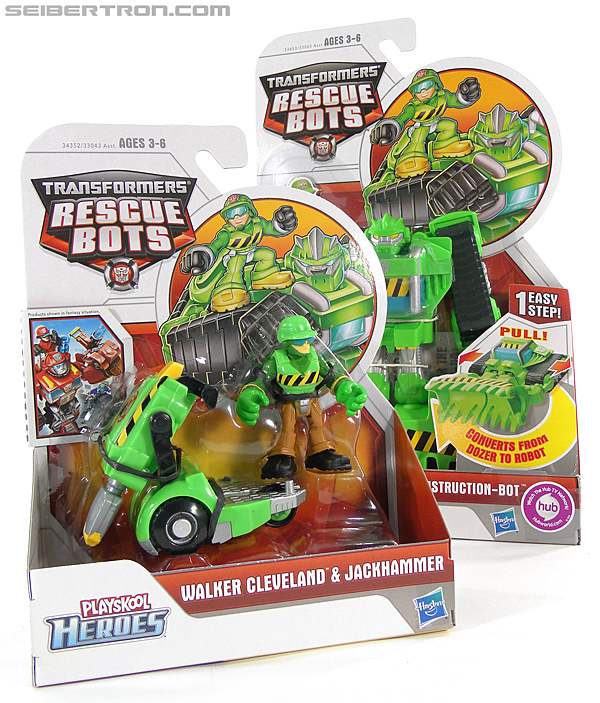 Transformers Rescue Bots Walker Cleveland & Jackhammer (Image #14 of 81)