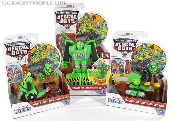 Transformers Rescue Bots Walker Cleveland & Jackhammer (Image #17 of 81)