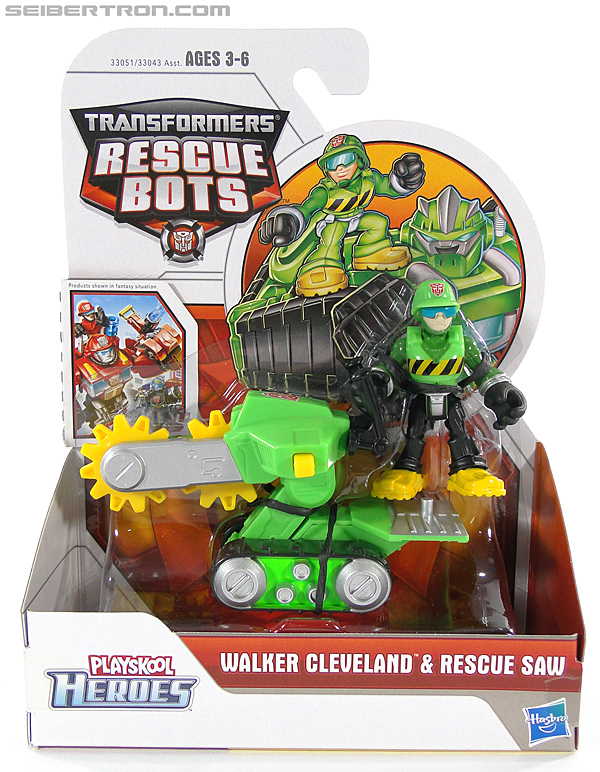 Transformers Rescue Bots Walker Cleveland & Rescue Saw (Image #1 of 98)