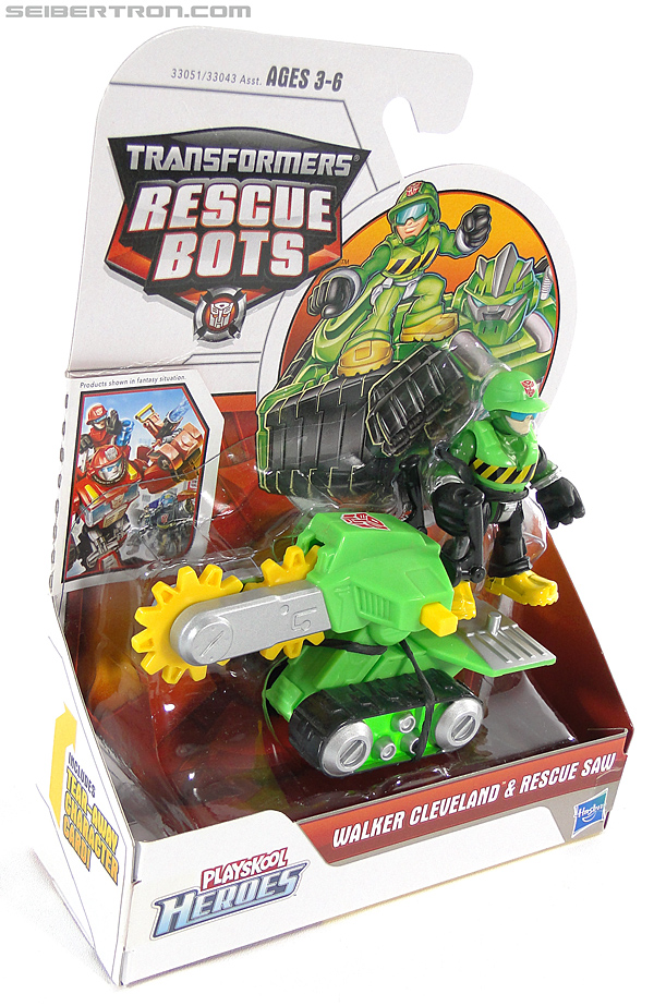 Transformers Rescue Bots Walker Cleveland & Rescue Saw (Image #6 of 98)