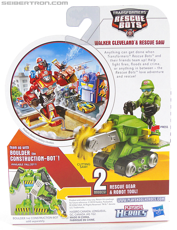 Transformers Rescue Bots Walker Cleveland & Rescue Saw (Image #8 of 98)