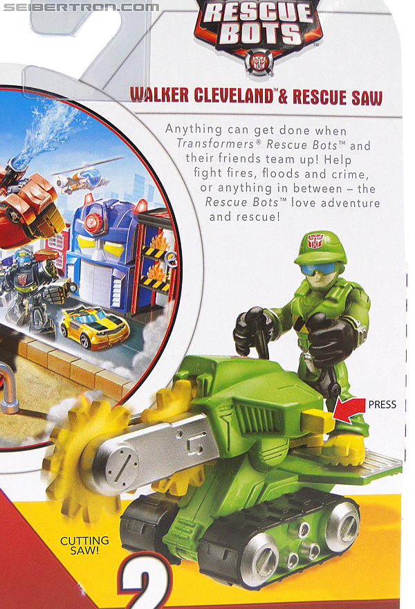 Transformers Rescue Bots Walker Cleveland & Rescue Saw (Image #9 of 98)