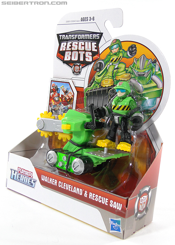 Transformers Rescue Bots Walker Cleveland & Rescue Saw (Image #11 of 98)