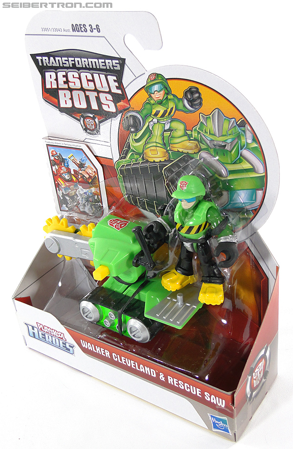 Transformers Rescue Bots Walker Cleveland & Rescue Saw (Image #12 of 98)