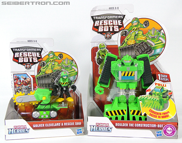 Transformers Rescue Bots Walker Cleveland & Rescue Saw (Image #17 of 98)
