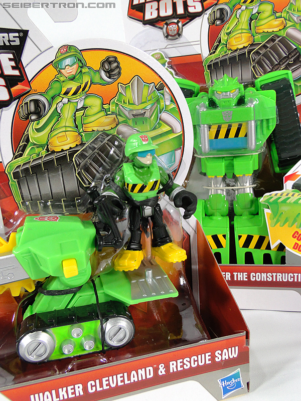 Transformers Rescue Bots Walker Cleveland & Rescue Saw (Image #19 of 98)