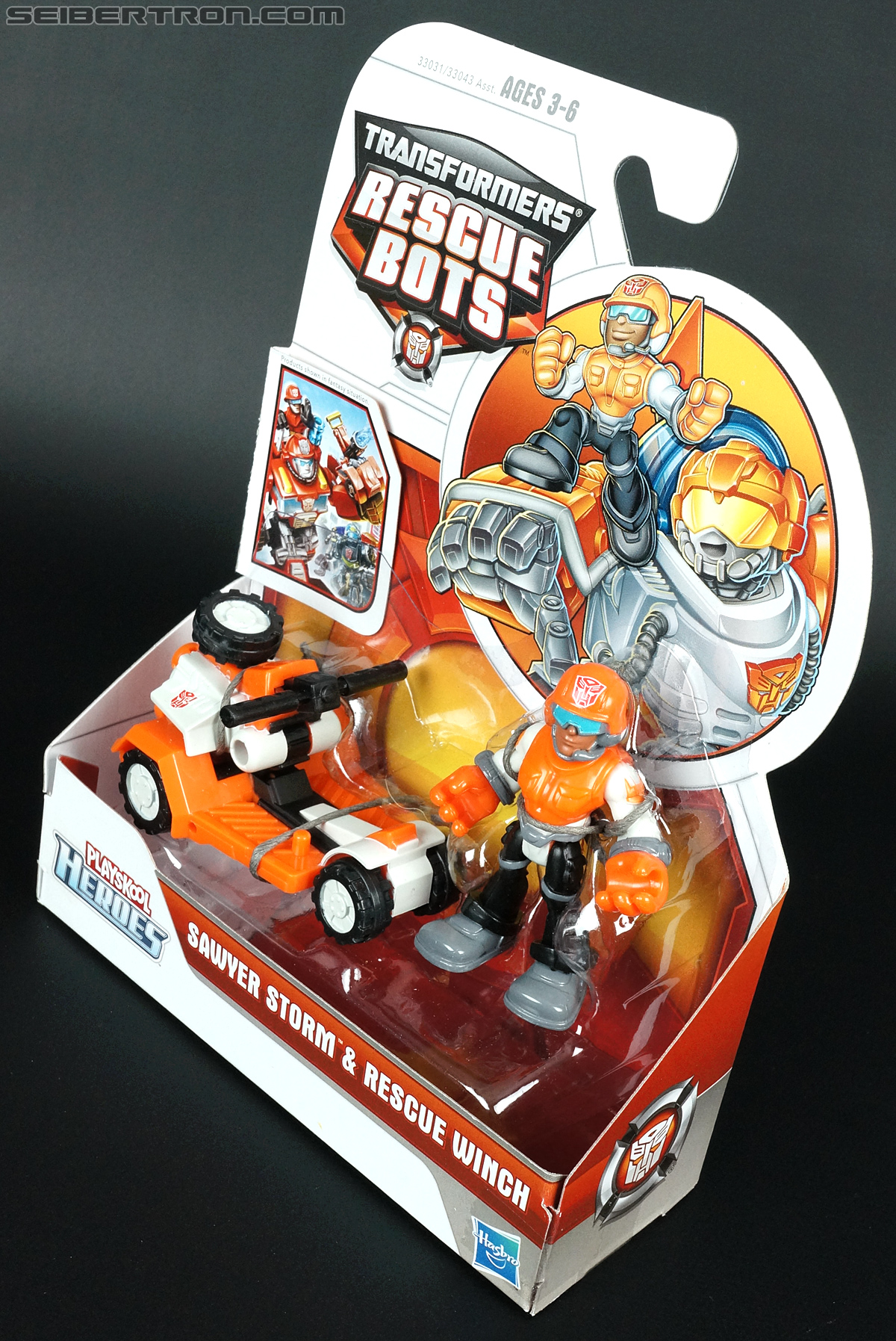 Transformers Rescue Bots Sawyer Storm & Rescue Winch (Image #13 of 75)