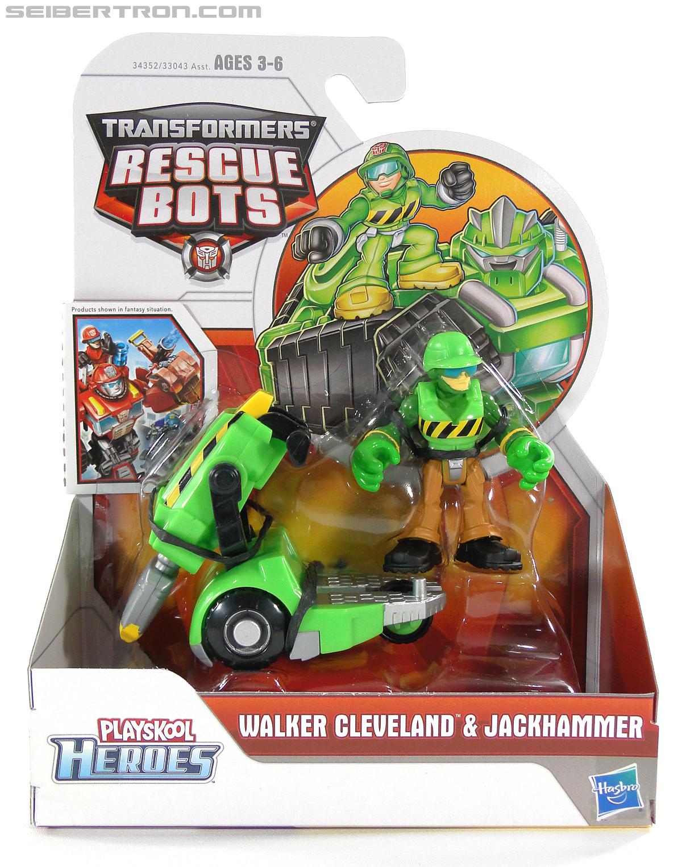 Transformers Rescue Bots Walker Cleveland & Jackhammer (Image #1 of 81)