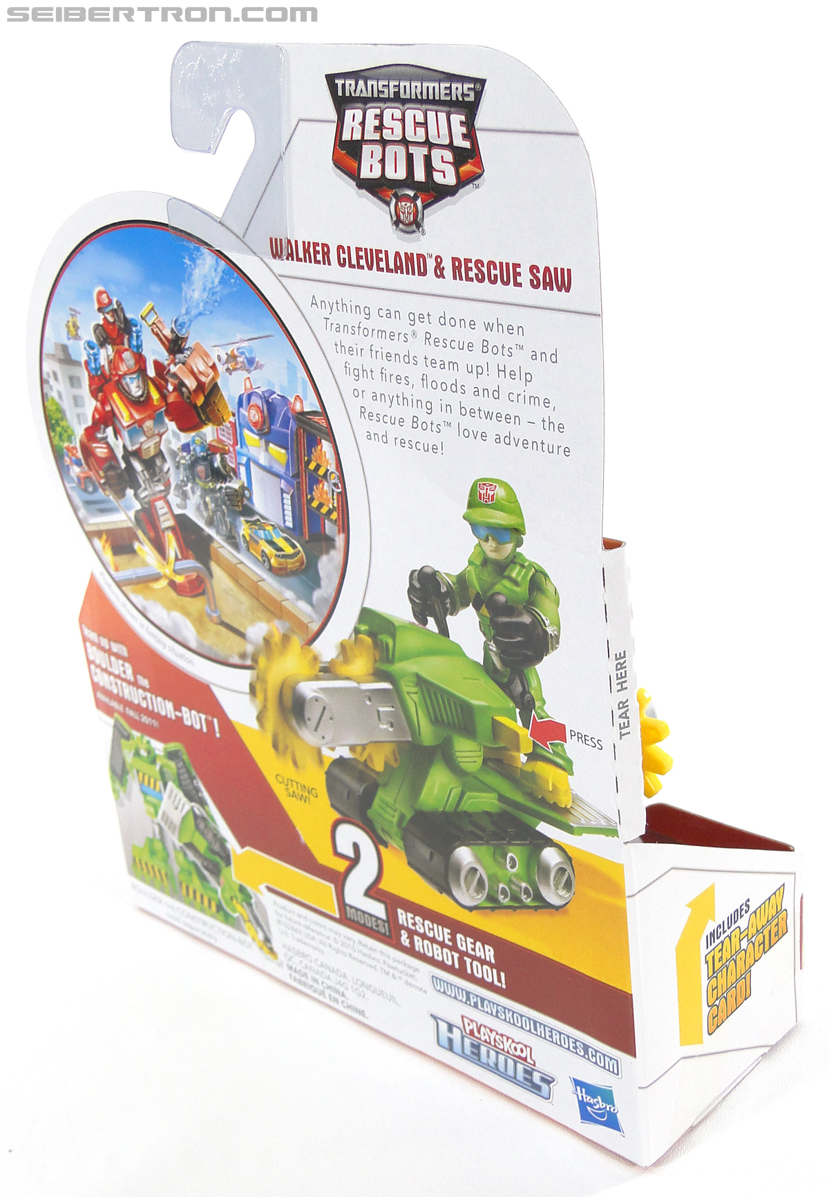 Transformers Rescue Bots Walker Cleveland & Rescue Saw (Image #7 of 98)