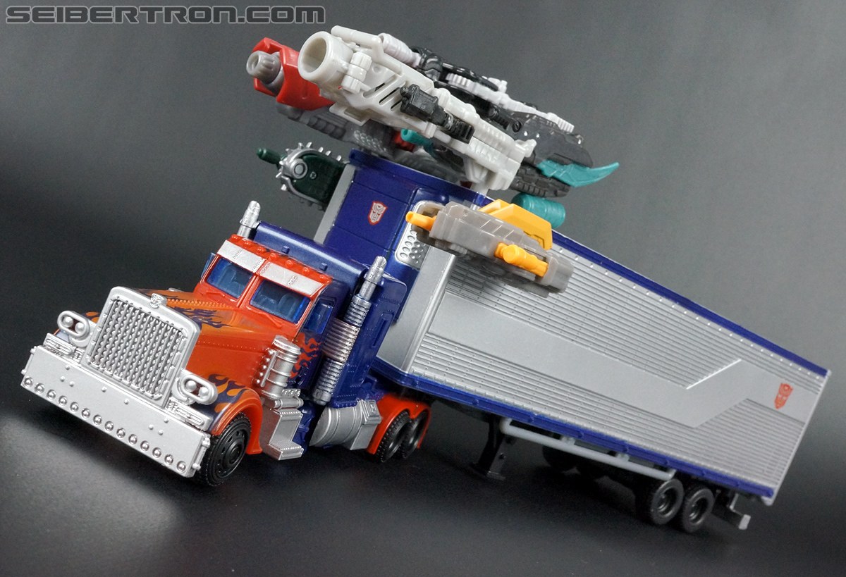 Transformers Movie Trilogy Series Optimus Prime with Trailer (Image #73 of 201)