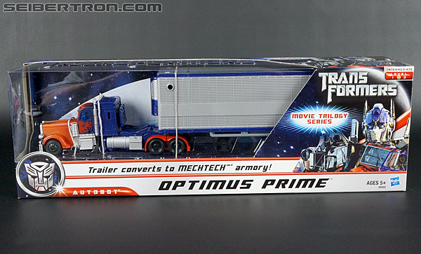 Transformers Movie Trilogy Series Optimus Prime with Trailer (Image #1 of 201)