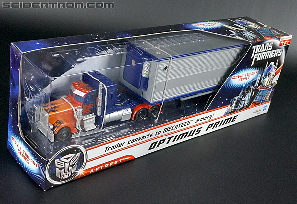 Transformers Movie Trilogy Series Optimus Prime with Trailer (Image #4 of 201)