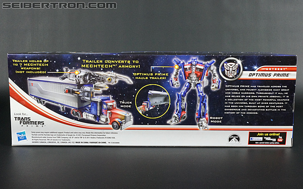 Transformers Movie Trilogy Series Optimus Prime with Trailer (Image #7 of 201)