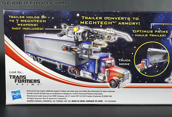 Transformers Movie Trilogy Series Optimus Prime with Trailer (Image #8 of 201)