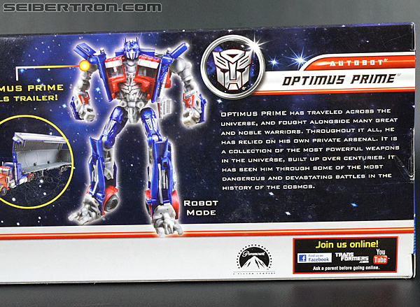 Transformers Movie Trilogy Series Optimus Prime with Trailer (Image #9 of 201)